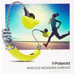 Polaroid Sport Neck IPX4 Water Resistant Ear Buds